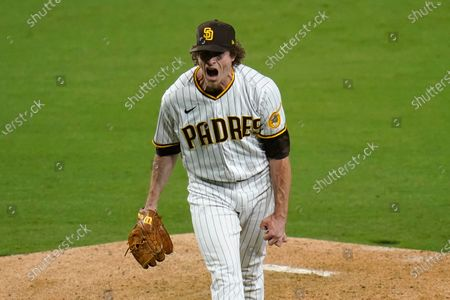 Editorial photo of Giants Padres Baseball, San Diego, United States - 30 Apr 2021