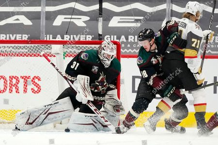 Editorial photo of Golden Knights Coyotes Hockey, Glendale, United States - 30 Apr 2021