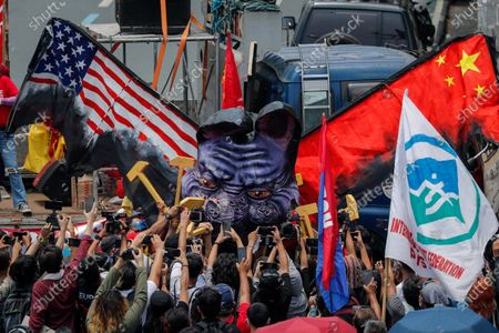 Editorial photo of Labor Day protests in Manila, Quezon City, Philippines - 01 May 2021