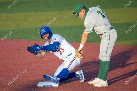 Editorial photo of North Dakota St Kansas Baseball, Lawrence, United States - 30 Apr 2021