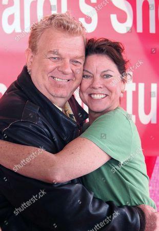 Stock Photo of Johnny Whitaker, Erin Moran