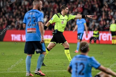 Editorial photo of Western Sydney v Sydney FC, A-League football match, Bankwest Stadium, Parramatta, Australia - 01 May 2021