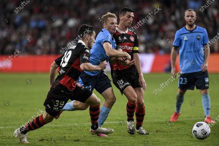 Editorial picture of Western Sydney v Sydney FC, A-League football match, Bankwest Stadium, Parramatta, Australia - 01 May 2021