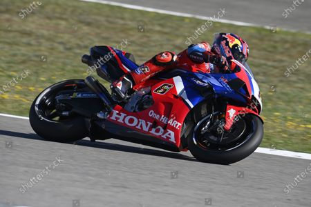 CIRCUITO DE JEREZ, SPAIN - MAY 01: Stefan Bradl, Honda HRC during the Spanish GP at Circuito de Jerez on Saturday May 01, 2021 in Jerez de la Frontera, Spain. (Photo by Gold and Goose / LAT Images)
