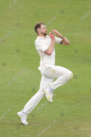 Tom Bailey of Lancashire bowling during the LV= Insurance County Championship match between Sussex County Cricket Club and Lancashire County Cricket Club at the 1st Central County Ground, Hove