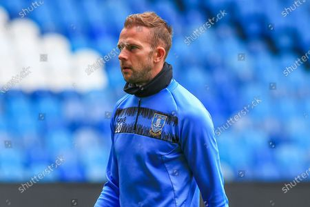 Jordan Rhodes (20) of Sheffield Wednesday  in the warm up session during the EFL Sky Bet Championship match between Sheffield Wednesday and Nottingham Forest at Hillsborough, Sheffield