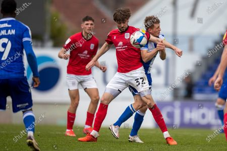 Editorial photo of Bristol Rovers v Crewe Alexandra, EFL Sky Bet League 1 - 01 May 2021