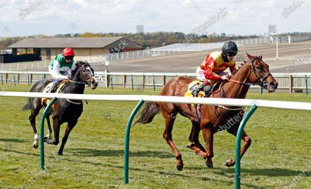 SIR RON PRIESTLEY (Franny Norton) wins The Betfair Exchange Jockey Club Stakes Newmarket