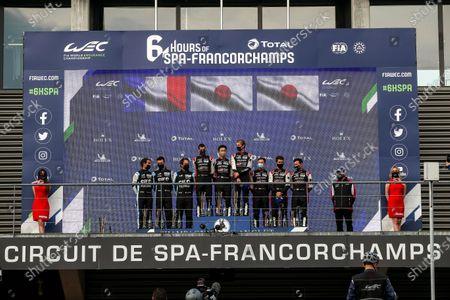 Editorial image of WEC 2021: Spa-Francorchamps, Circuit de Spa Francorchamps, Belgium - 01 May 2021