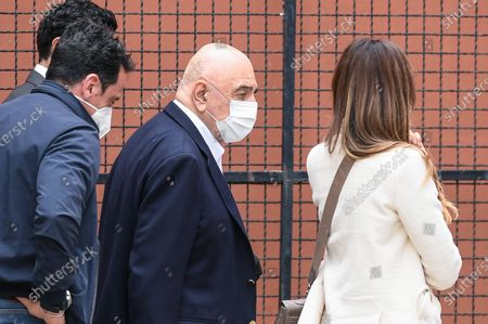Adriano Galliani owner of AC Monza during the Serie B match between US Salernitana 1919 and AC Monza at Stadio Arechi, Salerno, Italy on 1 May 2021.