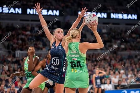 Editorial photo of Melbourne Vixens V West Coast Fever, Suncorp Super Netball Round 1, John Cain Arena, Melbourne, Australia - 01 May 2021