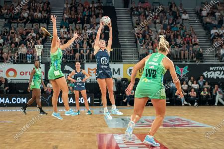 Editorial picture of Melbourne Vixens V West Coast Fever, Suncorp Super Netball Round 1, John Cain Arena, Melbourne, Australia - 01 May 2021