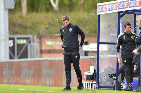 Editorial image of Wycombe Wanderers v Bournemouth, EFL Sky Bet Championship - 01 May 2021