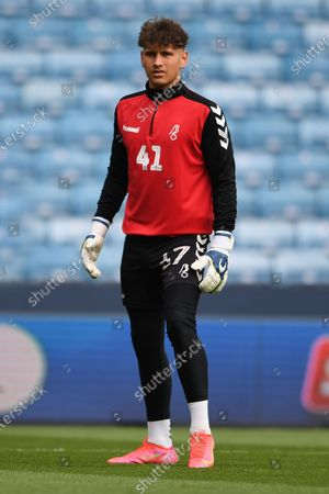 portrait Bristol City Goalkeeper Harvey Wiles-Richards (41)  during the EFL Sky Bet Championship match between Millwall and Bristol City at The Den, London