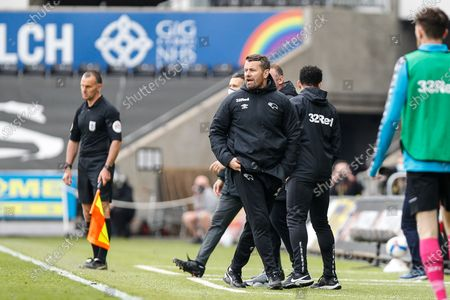 Derby County first-team coach Shay Given
