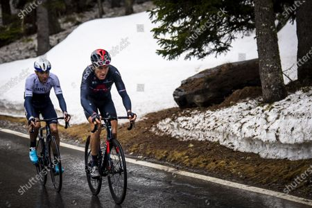 Editorial photo of 74th Tour de Romandie - 4th stage, Thyon Les Collons, Switzerland - 01 May 2021
