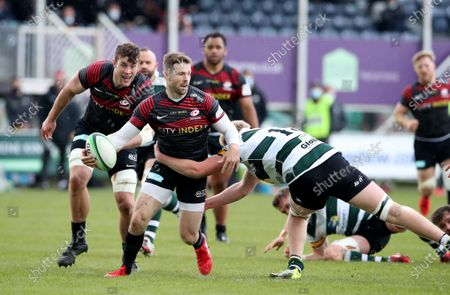 Stock Picture of Elliot Daly of Saracens