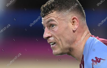 Aston Villa's Ross Barkley during the English Premier League soccer match between Everton and Aston Villa at Goodison Park in Liverpool, England