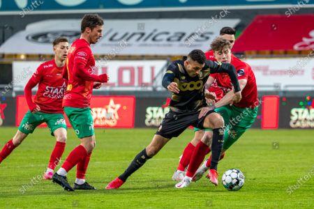 Editorial photo of Soccer Jpl Europe Po1 D1 Kv Oostende Vs Standard De Liege, Oostende, Belgium - 01 May 2021