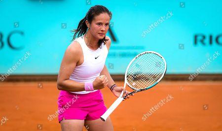 Daria Kasatkina of Russia in action