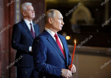 Editorial photo of Easter celebration in Moscow, Russian Federation - 02 May 2021