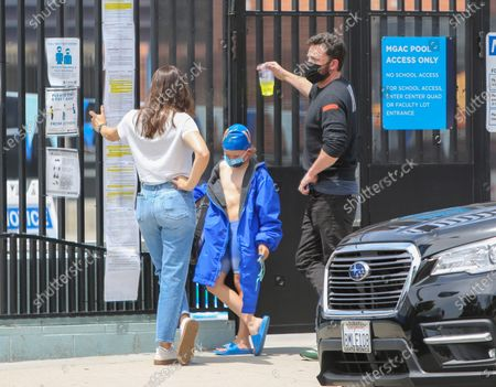 Editorial photo of Ben Affleck and Jennifer Garner out and about, Los Angeles, California, USA - 01 May 2021
