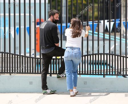 Editorial picture of Ben Affleck and Jennifer Garner out and about, Los Angeles, California, USA - 01 May 2021