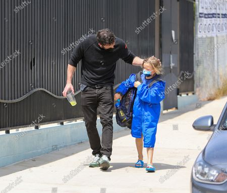 Editorial image of Ben Affleck and Jennifer Garner out and about, Los Angeles, California, USA - 01 May 2021