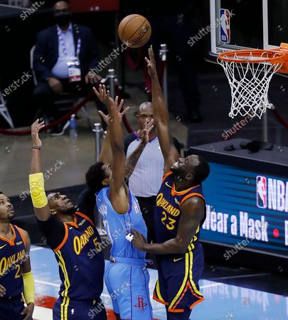Editorial image of Warriors Rockets Basketball, Houston, United States - 01 May 2021