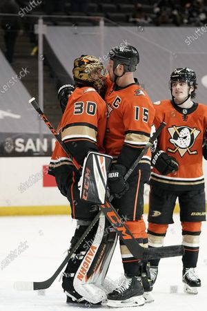 Editorial photo of Kings Ducks Hockey, Anaheim, United States - 01 May 2021