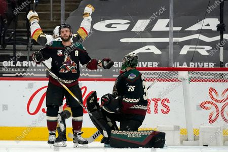 Editorial picture of Golden Knights Coyotes Hockey, Glendale, United States - 01 May 2021