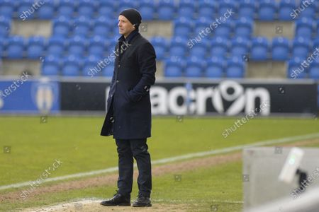 Colchesters advisor Paul Tisdale during the Sky Bet League 2 match between Colchester United and Salford City at the Weston Homes Community Stadium, Colchester on Saturday 1st May 2021.