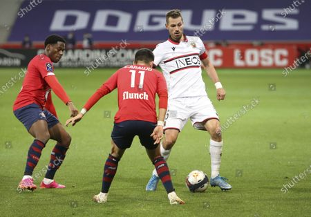 Editorial picture of Lille OSC (LOSC) vs OGC Nice (OGCN), Ligue 1, Football, Stade Pierre Mauroy, Villeneuve-D'Ascq Near Lille, France - 01 May 2021