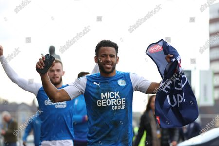 Editorial photo of Peterborough United v Lincoln City - Sky Bet League 1, United Kingdom - 01 May 2021