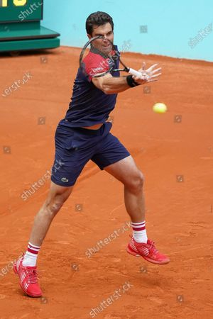 Editorial image of Mutua Madrid Open - Day Three, Spain - 01 May 2021