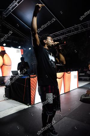Editorial picture of Ludacris and Major Lazer performance, Miami, USA - 01 May 2021