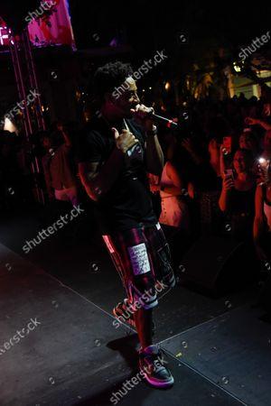 Stock Photo of Ludacris in concert