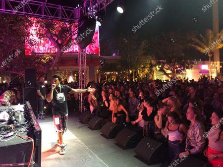 Editorial image of Ludacris and Major Lazer performance, Miami, USA - 01 May 2021