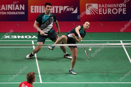 Editorial image of 2021 European Badminton Championships in Kyiv, Ukraine - 02 May 2021