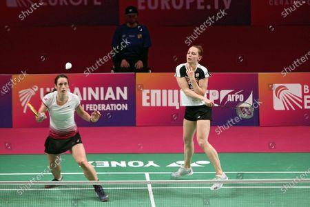 Editorial photo of 2021 European Badminton Championships in Kyiv, Ukraine - 02 May 2021
