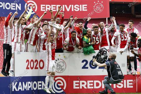 Editorial image of Ajax v FC Emmen, Amsterdam, Netherlands - 02 May 2021