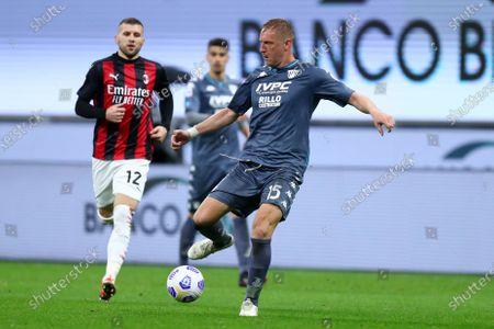 Kamil Glik of Benevento Calcio