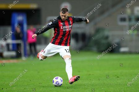 Ante Rebic of AC Milan