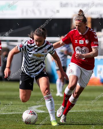 Katie Zelem of Manchester United- Mandatory by-line: Will Cooper/JMP