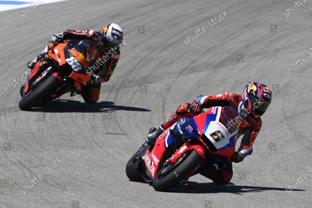CIRCUITO DE JEREZ, SPAIN - MAY 02: Stefan Bradl, Honda HRC during the Spanish GP at Circuito de Jerez on Sunday May 02, 2021 in Jerez de la Frontera, Spain. (Photo by Gold and Goose / LAT Images)