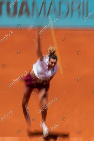 Editorial picture of Mutua Madrid Open tennis tournament, Spain - 02 May 2021