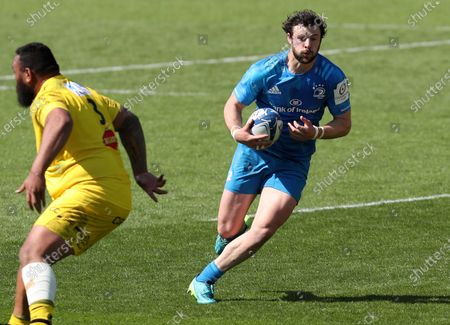 Stock Photo of La Rochelle vs Leinster. Leinster's Robbie Henshaw