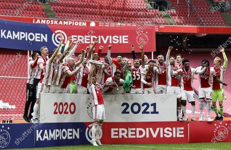 Editorial picture of Ajax Amsterdam v FC Emmen, Dutch Eredivisie, Amsterdam, Netherlands - 02 May 2021