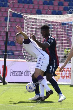 Editorial picture of Soccer: Serie A 2020-2021 : Bologna 3-3 Fiorentina, Bologna, Italy - 02 May 2021