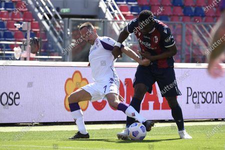 Editorial image of Soccer: Serie A 2020-2021 : Bologna 3-3 Fiorentina, Bologna, Italy - 02 May 2021